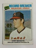 1977 Nolan Ryan # 234 Topps Baseball Card California Angels HOF