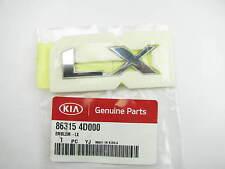 New - Genuine Rear Tailgate LX Emblem Logo OEM For 2006-2012 Kia Sedona LX