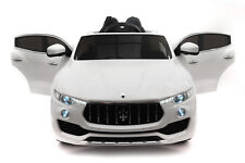 Battery Powered 12V Kids Electric Ride-On Car Toy LICENSED MASERATI LEVANTE MP3
