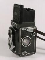 PRL) SEAGULL 2.8/75 mm HAIOU-31 3.5/75 FOTOCAMERA TIPO ROLLEIFLEX BIOTTICA 6x6