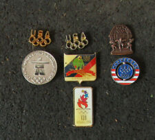 Lot of 7 Lapel Pins from the Olympics