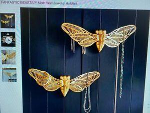 POTTERY BARN TEEN FANTASTIC BEASTS Moth Wall Jewelry Holders 2