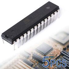 5PCS ATmega328P-PU DIP-28 Microcontroller IC ATMEL IC w Arduino UNO bootloader