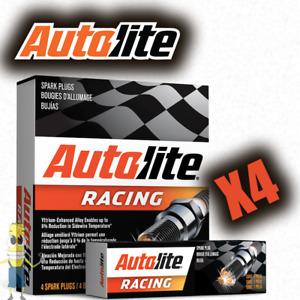Autolite AR2594 High Performance Racing Non-Resistor Spark Plug - Set of 4