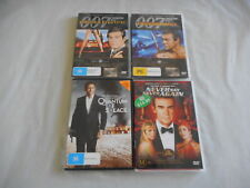 Used Bulk Lot 4 Dvds 4 Movies with 007 James Bond