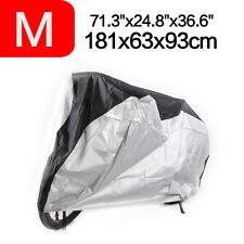 M 72' Waterproof Bicycle Motorbike Mountain Bike Bikes Cover Rain Dust Resistant