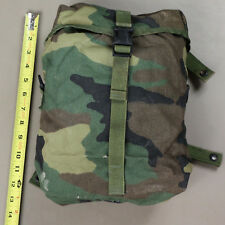 Sustainment USED Woodland BDU Camouflage MOLLE II Utility Dump Pouch