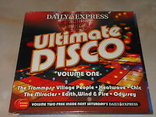 Daily Express Music CD - Ultimate Disco - Volumes One and Two - 2 Disc Set