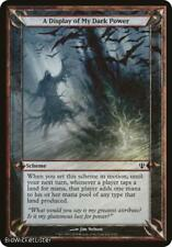A Display of My Dark Power (Scheme) (Common) Near Mint Normal English - Magic