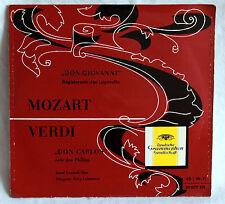 "7"" Vinyl JOSEF GREINDL (Bass) - Don Govanni / Don Carlos"