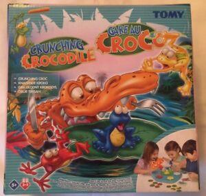 TOMY CRUNCHING CROCODILE GAME -  BRAND NEW  AGE 5+