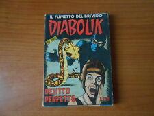 DIABOLIK n.18-DELITTO PERFETTO -1° serie GIUGNO del 1964 diff.SODIP