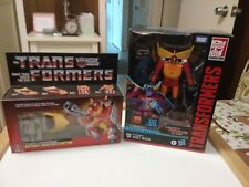 Transformers G1 Lot of 2 Hot Rod's the movie series 86 and the Walmart reissue