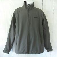 Marmot Gravity Soft Shell Jacket L Gray Water Resistant Wind Proof Full Zip