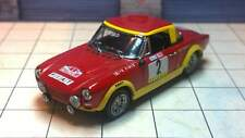 1/43 FIAT 124 Abarth #2 Rally Portugal 1974 (VITESSE)