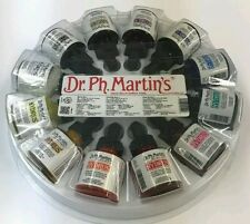Dr.Ph.Martin's HYDRUS (set 1) Fine Art Watercolors 12 - 1oz  bottles made in USA