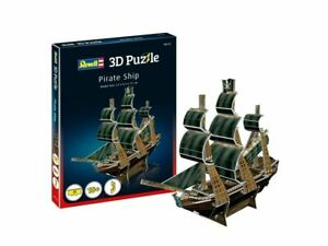 Revell 24 piece 3D Puzzle / Model Kit - Pirate Ship RV00115