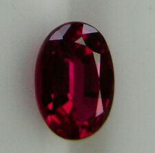 NATURAL 1.30ct!! RUBY NATURAL EXPERTLY FACETED IN GERMANY +CERTIFICATE INCLUDED