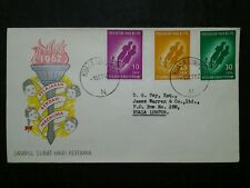 Malaysia 1962 Federation Of Malaya Free Primary Education FDC No Brochure(3)