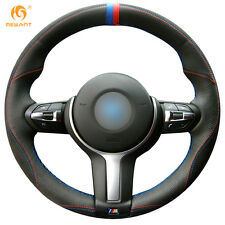 Leather DIY Steering Wheel Cover for BMW F87 M2 F80 M3 F82 M4 M5 M6 F30 #01127
