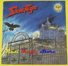 CARTONATO PROMOZIONALE SOTTILE SAVATAGE POETS AND MADMEN no cd dvd lp mc