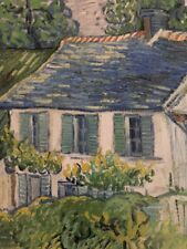 Vincent Van Gogh: Houses At Auvers (2003) / The Toledo Museum Of Art Poster