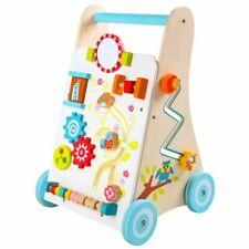 Lauflernwagen Baby Walker Gehfrei Lauflernhilfe Steckspiel Holz Eco Toys