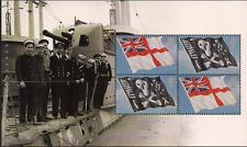 2009 GB QEII ROYAL MAIL DX47 PRESTIGE BOOKLET PANE ROYAL NAVY UNIFORMS 2970A