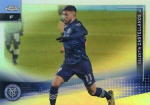 2021 TOPPS CHROME MLS  REFRACTOR  VALENTIN CASTELLANOS NO. 15