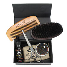 Beard Wax Beard Oil Comb Gift Set Beard Grooming Kit Product Natural Handmade