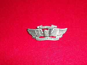 US Confederate Air Force Ghost Squadron Pilot Wings Pin