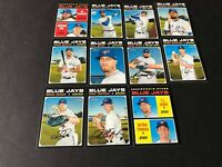 2020 HERITAGE TORONTO BLUE JAYS TEAM SET ( 11 CARDS ) Bichette RC