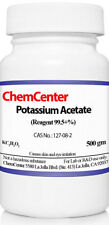 Potassium Acetate, Reagent, 99+%,  500 grams