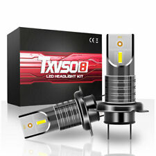 2x H7 110W Voiture 5050 Csp LED Phare Kit Canbus sans Erreur Lampe 20000LM 6000K