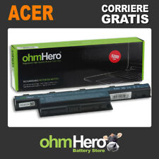 Batteria OhmHero® 10.8-11.1V 5200mAh REALI, SOSTITUISCE Emachines AS10D31,