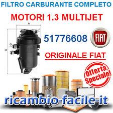 FILTRO CARBURANTE COMPLETO 51776608 ORIGINALE IDEA MUSA YPSILON 1.3 MULTIJET