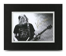 Krist Novoselic Signed 10x8 Photo Display Nirvana Memorabilia Autograph + COA
