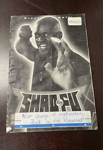 Shaq Fu Manual Sega Genesis