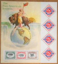 2001 sheet Pan American Inverts Sc# 3505