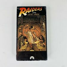 RAIDERS OF THE LOST ARK 1981 VHS NEW Sealed Stereo Harrison Ford Ready for IGS