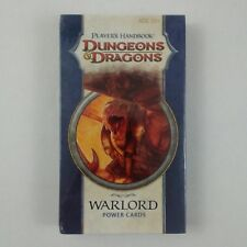 2009 WOTC D&D 4TH Edition Warlord Power Cards  Players Handbook New Sealed