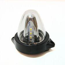 1 Teile 12V LED hinten Seitenblinker weiß Positionslicht Lkw VAN Auto