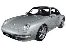 1995 PORSCHE CARRERA 911 993 SILVER METALLIC 1:18 DIECAST MODEL BY AUTOART 78131