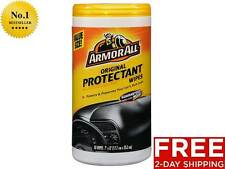 New Armor All 10834 Protectant Wipes - 50 Sheets Car Cleaner Free 2-Day Shipping