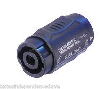 1 Genuine Neutrik Nl4Mmx F-F Locking Cable Coupler Free Us Shipping