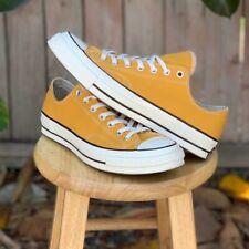 Converse Chuck 70 Mens Sz 10 Low Top Mustard Yellow Sneakers