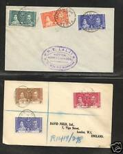 Kenya  and  Gambia   coronation stamps on  cover