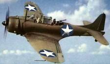 A-24 Dauntless Douglas USA Dive Bomber Airplane Mahogany Wood Model Small