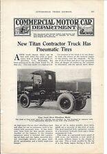 1920 Titan Truck 2 pg Article & Photos/Milwaukee