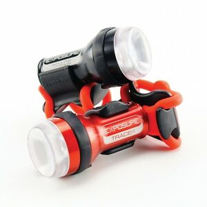 Exposure Lights Trace & TraceR Rechargable Bike Lights with new DayBright Mode!